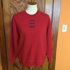 Vintage 80s esprit preppy colorful sweat shirt